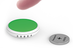 A small Bluetooth button push sensor and logger